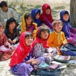 Niñas-afganas